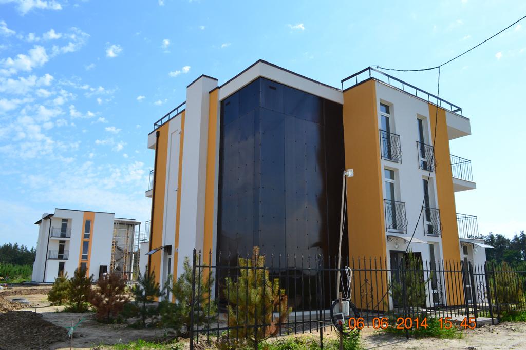 Ясногородка малоформатные многоквартирные дома