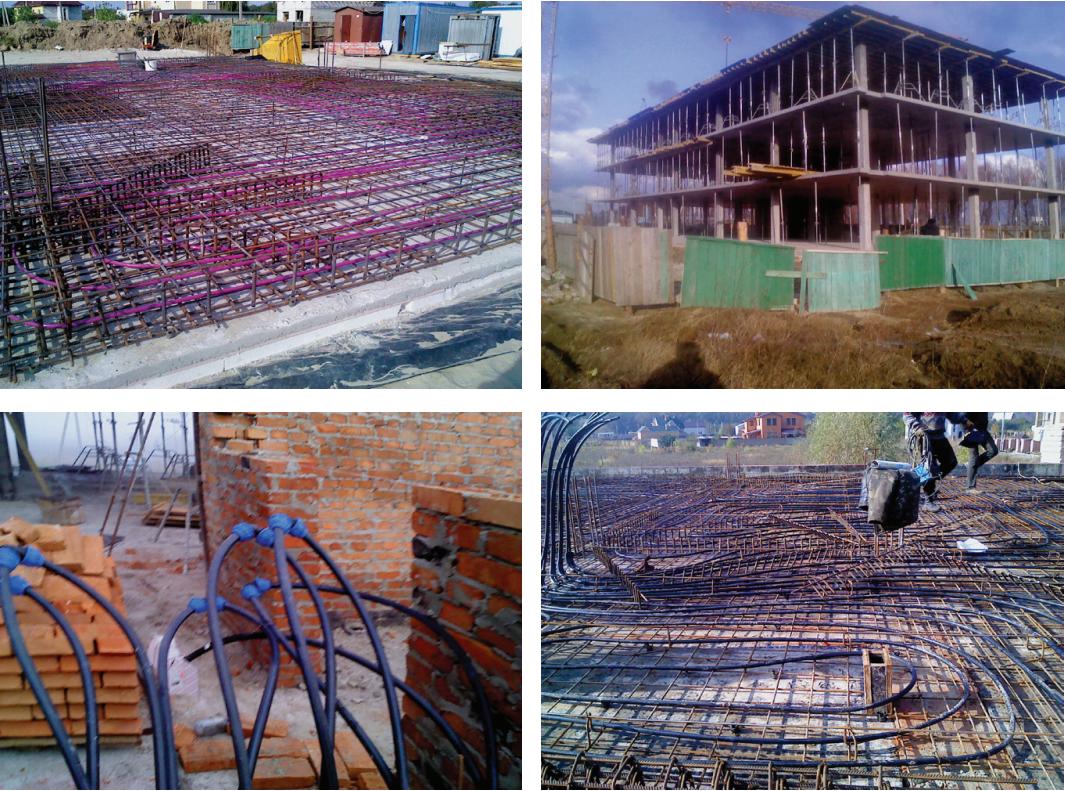 Основа здорового климата здания термоактивная адаптивная строительная система